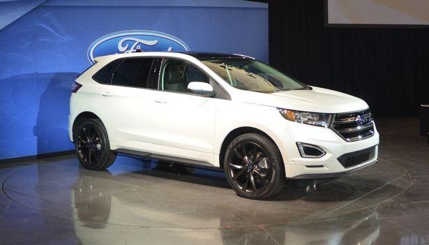 2015 ford edge design