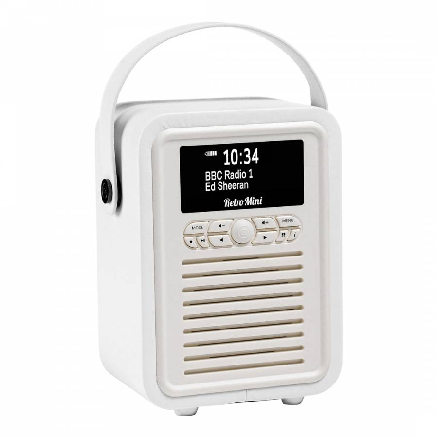 VQ VQ Retro Mini DAB+ Digital Radio & Bluetooth Speaker