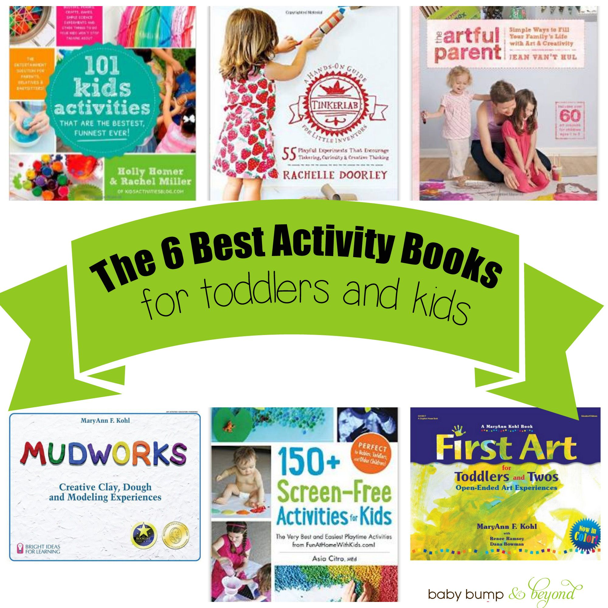 The 6 Best Toddler Activity Books Baby Bump & Beyond