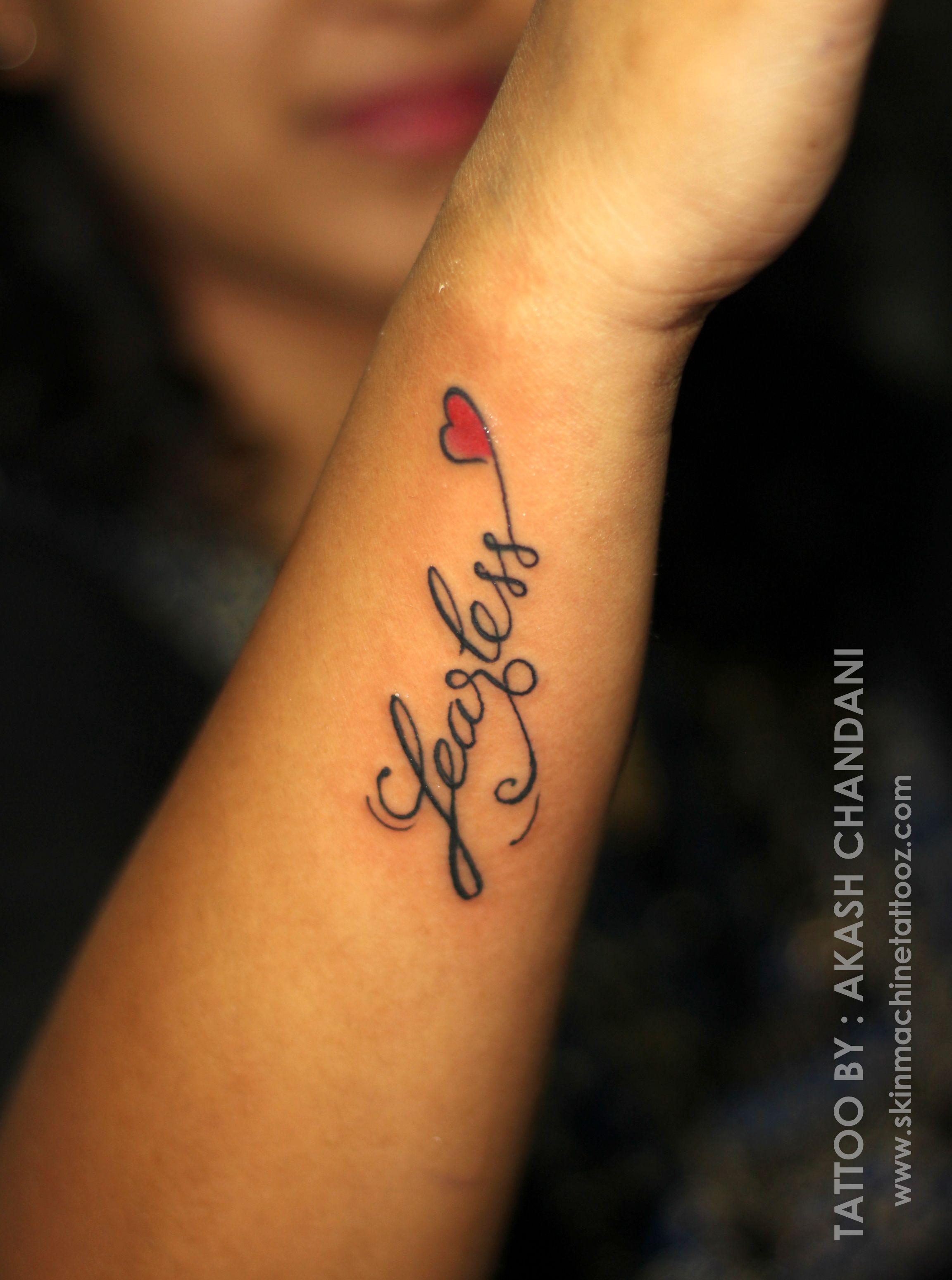 d176a110da83e Calligraphy & Tattoo by : Akash Chandani Skin Machine Tattoo Studio . Bhopal  . India www.skinmachinetattooz.com Email for appointments ...