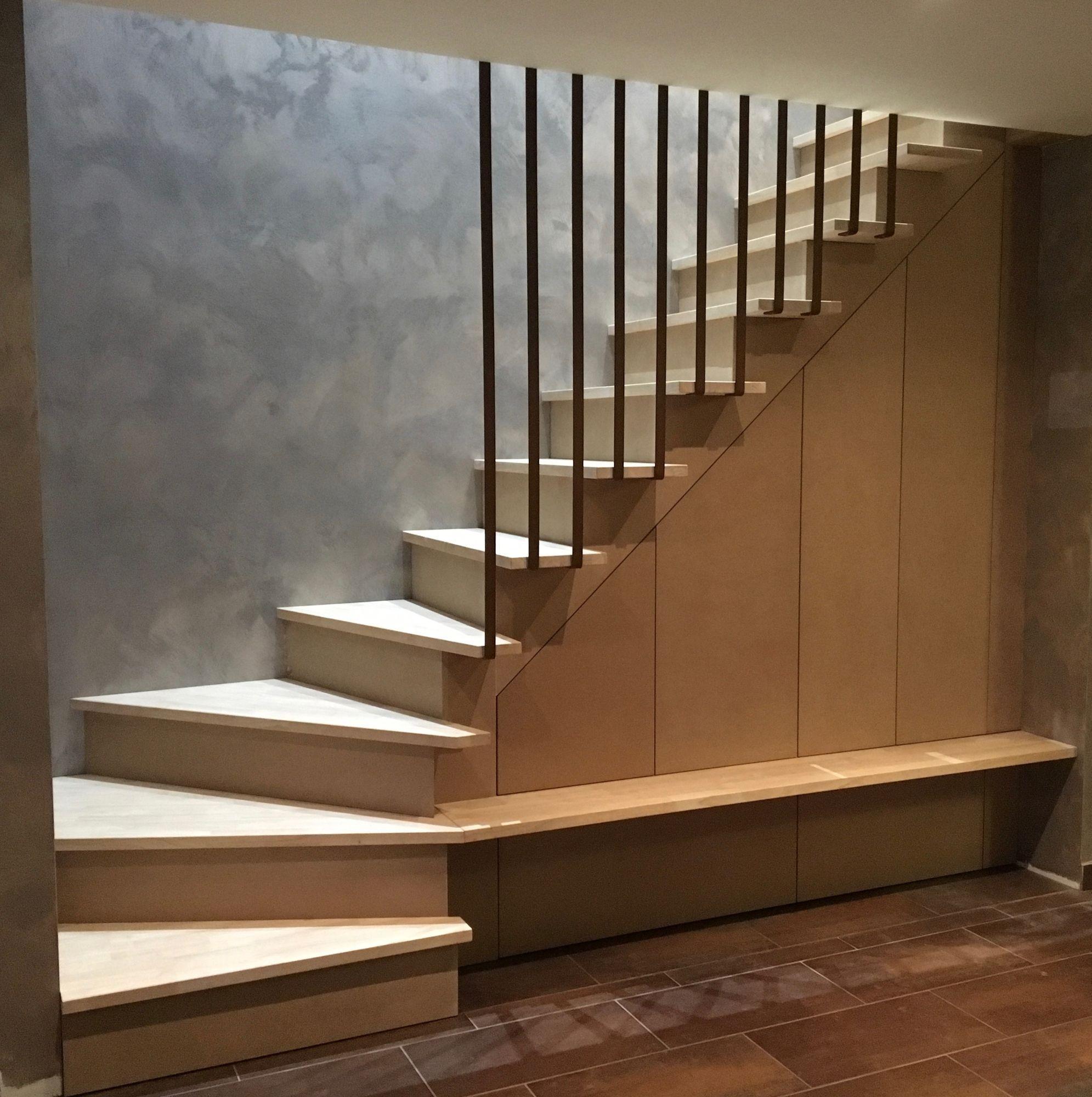 Épinglé par Chantal Brien sur Escaliers | Aménagement sous escalier, Escalier, Escaliers maison