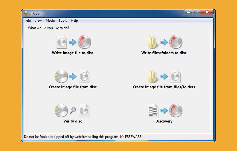 5 Free CD/DVD/Blu-ray Discs Burner Software - Erase Re