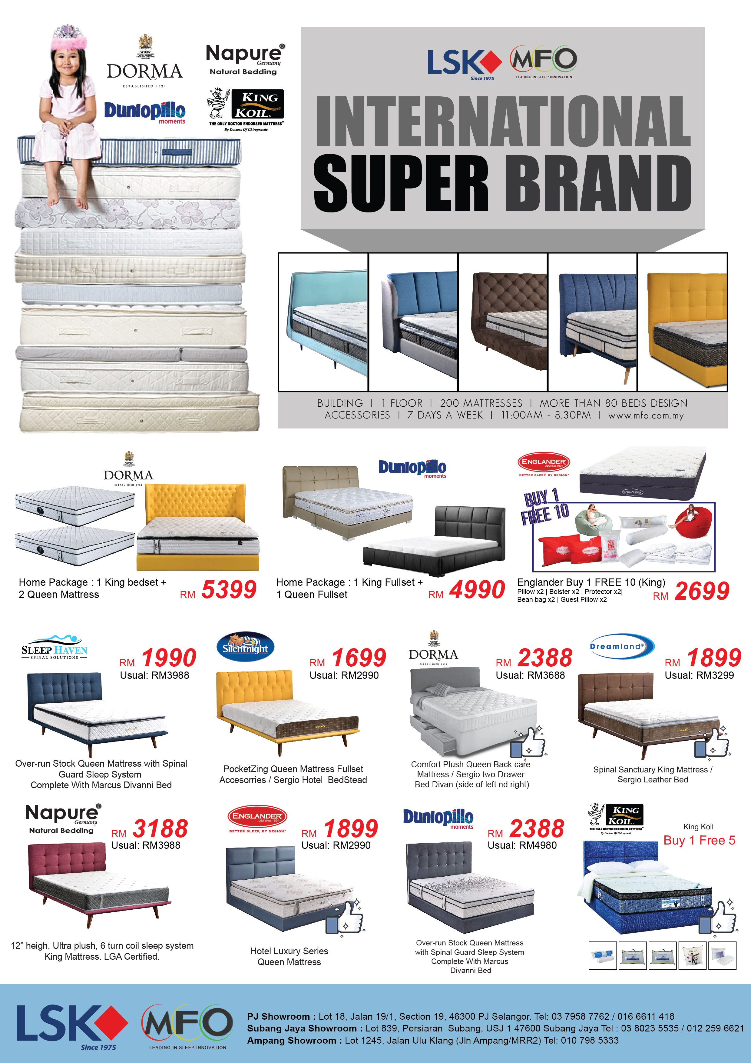 Do You Know Dorma Napure Are Under The Malaysia Top 10 Mattress And Englander Brand Consecutively In The Us Mattress On Floor Top 10 Mattresses Bed Design