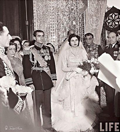 The Shah of Iran and his 2nd wife princess Sorraya! | The