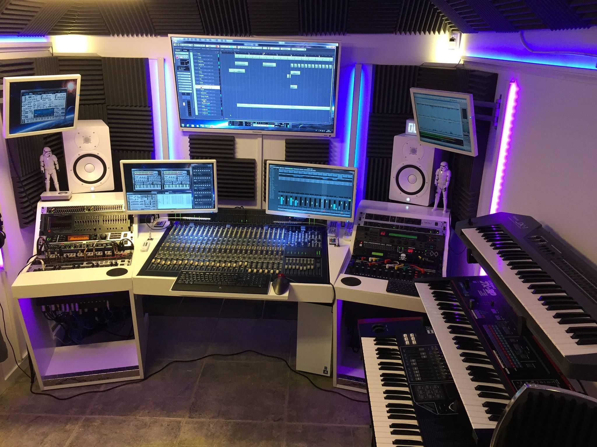 pin by brandon hughes on studio in 2019 home studio music recording studio home studio furniture. Black Bedroom Furniture Sets. Home Design Ideas