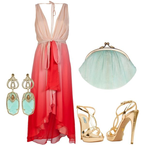 Ethereal Summer Love, created by brickellista on Polyvore