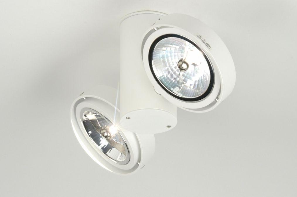 Artikel 71874 Deze moderne plafondlamp is gemaakt van vol ...