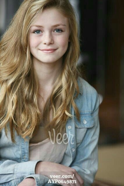 Ava At About 15 Years Old Blonde Hair Girl Blonde Hair