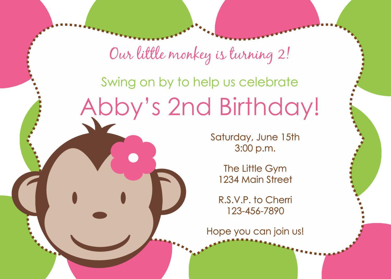 Diy polka dot mod monkey girl birthday invitation printable file diy polka dot mod monkey girl birthday invitation printable file 7a 800 filmwisefo Choice Image