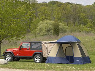 Go C&ing With Your Tent AND Your Jeep! - Just For Jeeps Article Directory - Jeep Accessories - Jeep Parts - Mopar - Grand Cherokee - Liberty - Wrangler ... & hmmmm i wonder if it works on the jeep compass | Jeep | Pinterest ...