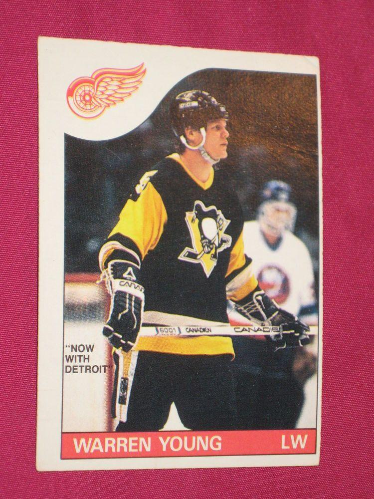 198586 152 Warren Young, OPeeChee OPC, Pittsburgh