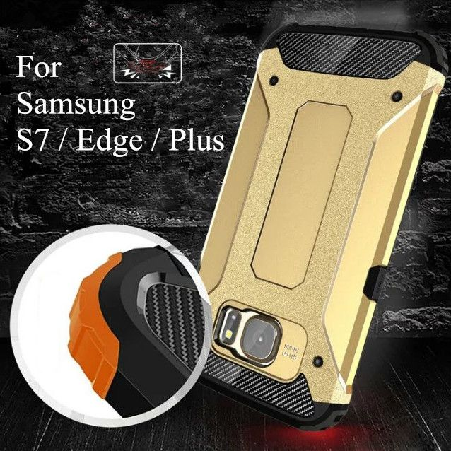 For Samsung Galaxy S7 / S7 Edge / S7 Plus Heavy Hockproof Hybrid Armor Cases With Dual Layer Cell Phone Back Cover Case Coque //Price: $US $1.88 & FREE Shipping //     #iphone