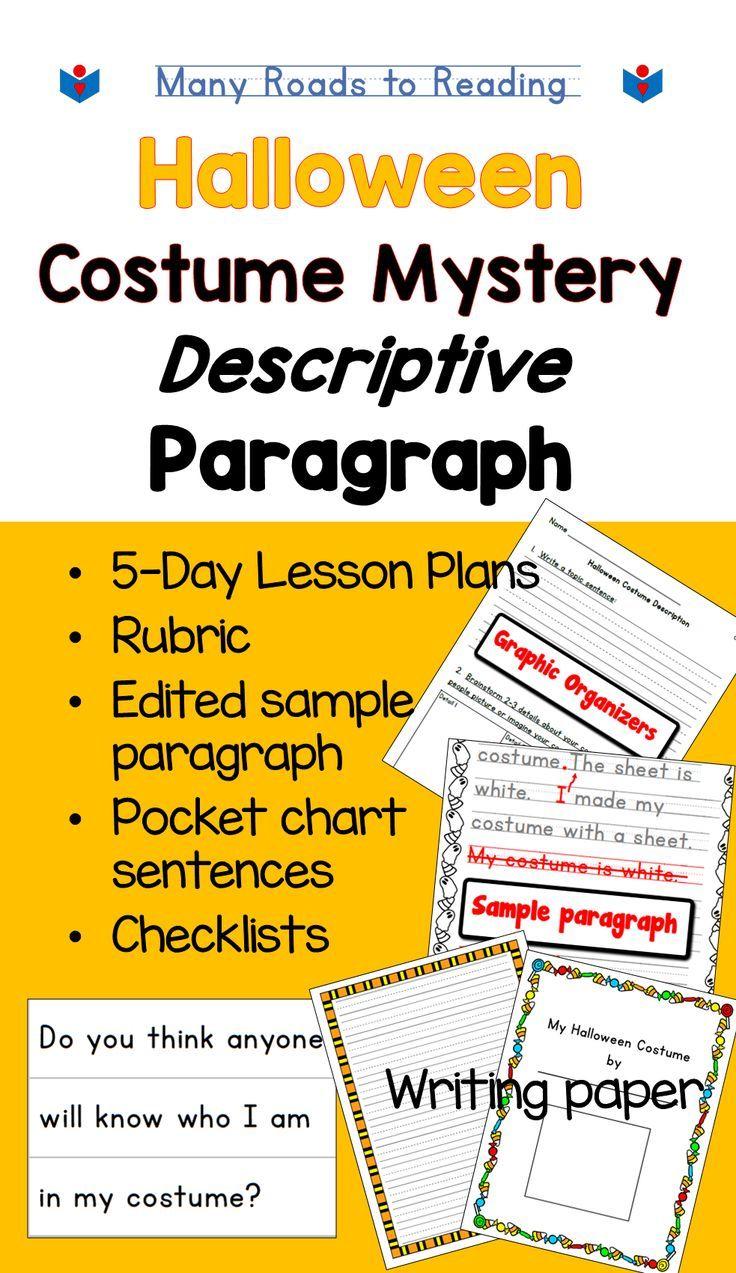 Halloween Writing Descriptive Paragraph Lesson Plan Paragraph Writing Lesson Writing Lessons Writing Lesson Plans [ 1273 x 736 Pixel ]