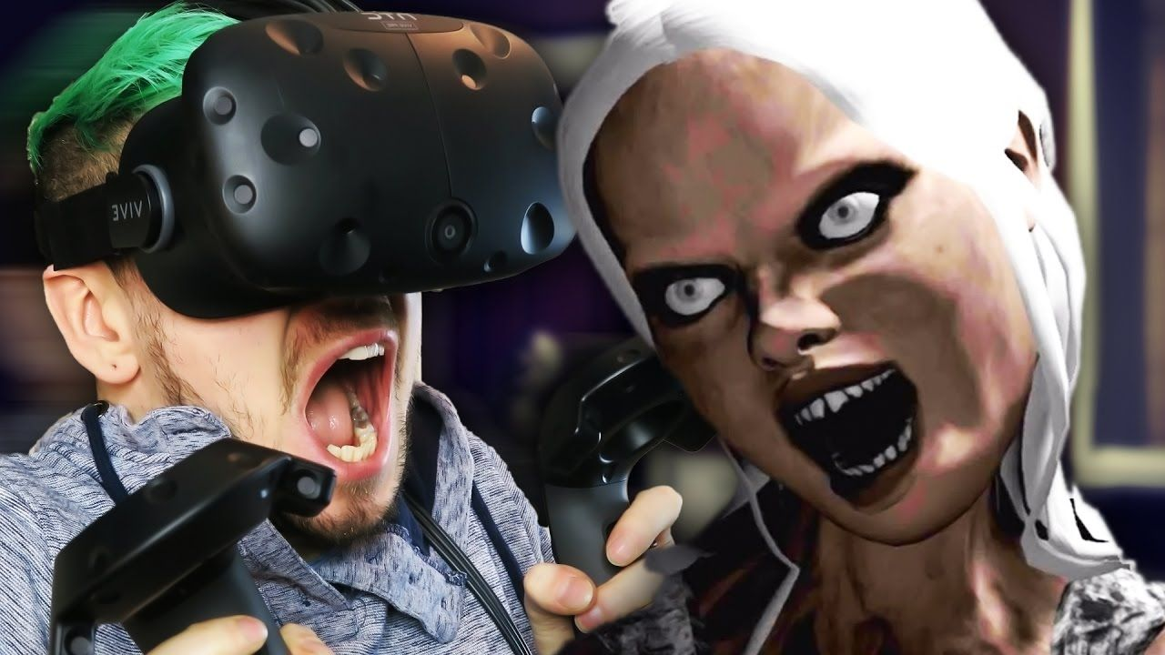 i m not ready for this emily wants to play vr htc vive virtual