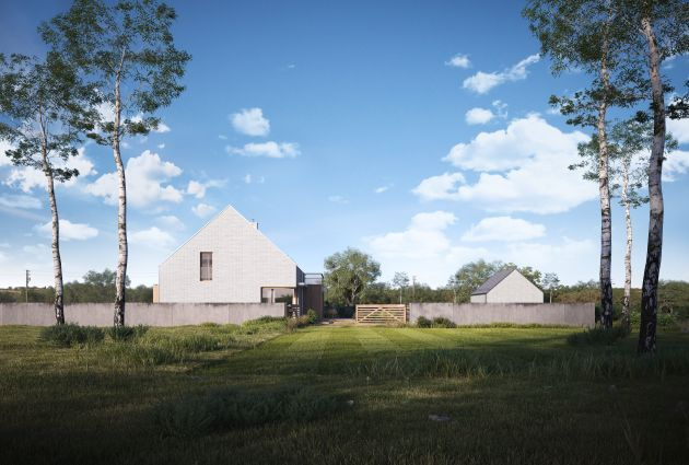 CGarchitect - Professional 3D Architectural Visualization User Community | House in the landscape