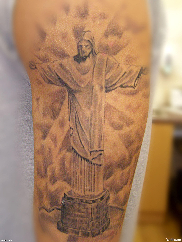 Christ The Redeemer Tattoo Google Search Com Imagens Cristo