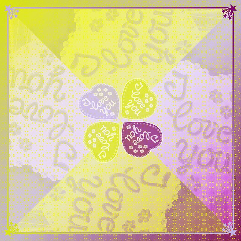 I LOVE YOU Yellow