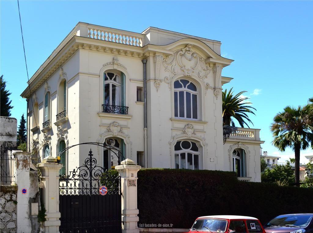 Fa ade de nice villa la perle 11 boulevard edouard vii for Les plus belles facades de villa