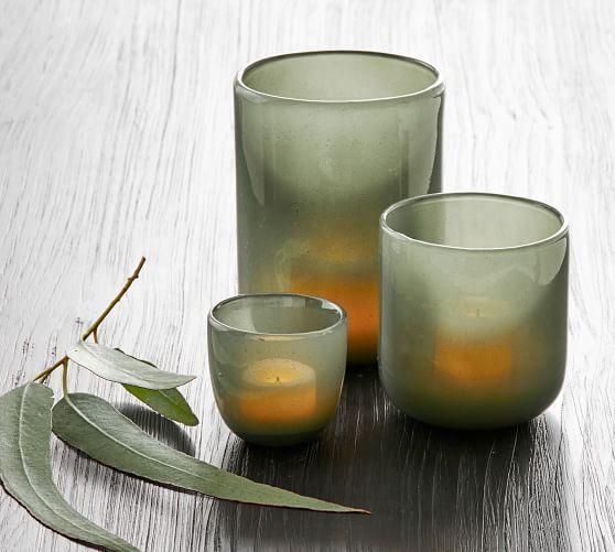 Modern Glass Votive Candleholders