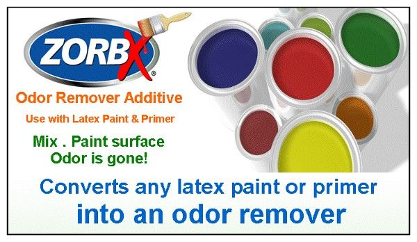 Surface Odor Remover Paint Additive can be used on: Stinky walls