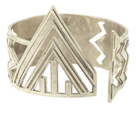 house-of-harlow-1960-chevron-cuff-in-silver