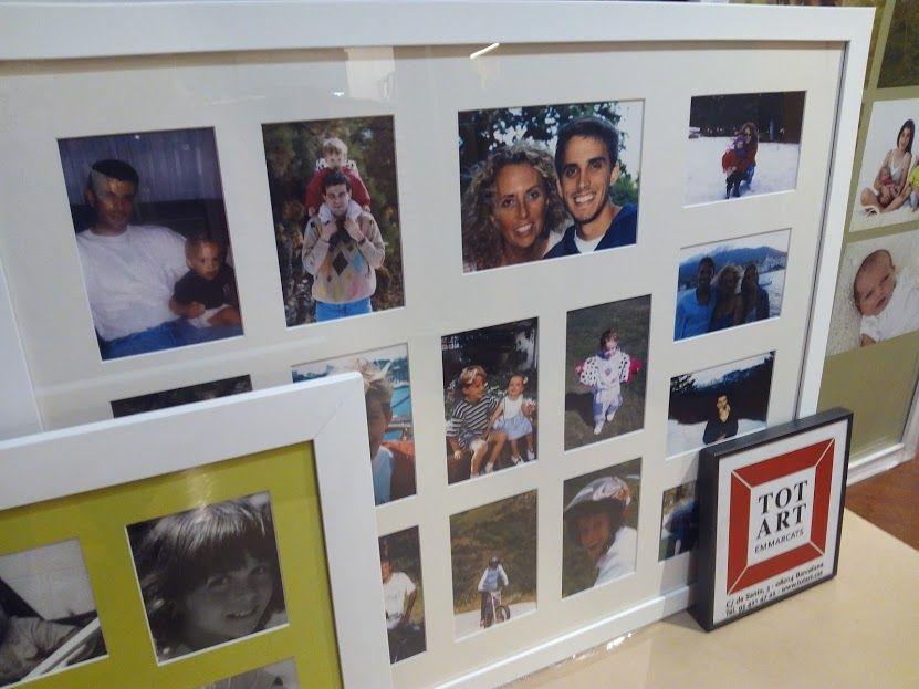 marcos para montaje cuadro multifoto | Marcos y cuadros | Pinterest ...