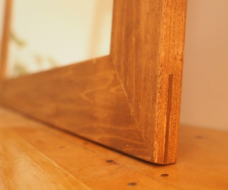 Picture Frame With Corner Splines | Corner, Wood tools and Woodworking