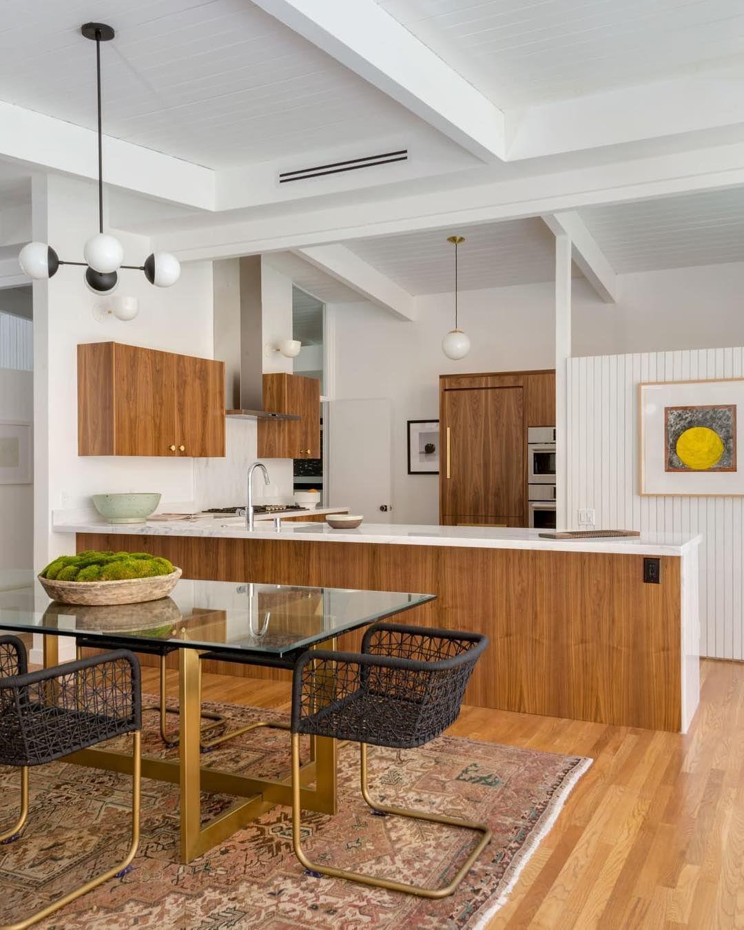 Alto Compass 6 Mid Century Modern Kitchen Design Mid Century