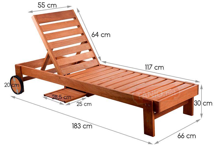 Drewniany Lezak Ogrodowy Kola Regulowane Opracie 4053288858 Oficjalne Archiwum Allegro Diy Furniture Couch Diy Outdoor Furniture Diy Patio Furniture