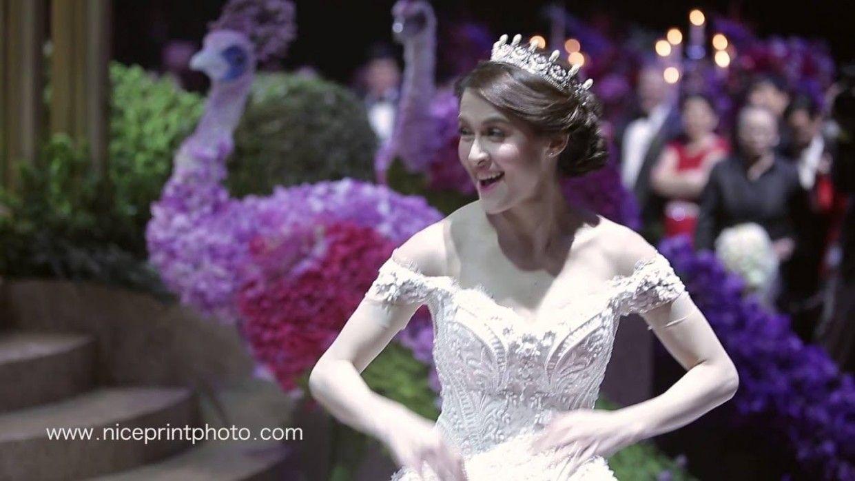Wedding Hairstyle Of Marian Rivera Gaya Rambut Rambut