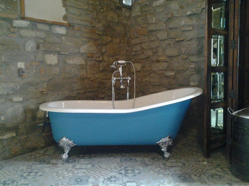 Attractive Paint Cast Iron Tub Festooning - Bathtub Ideas - dilata.info