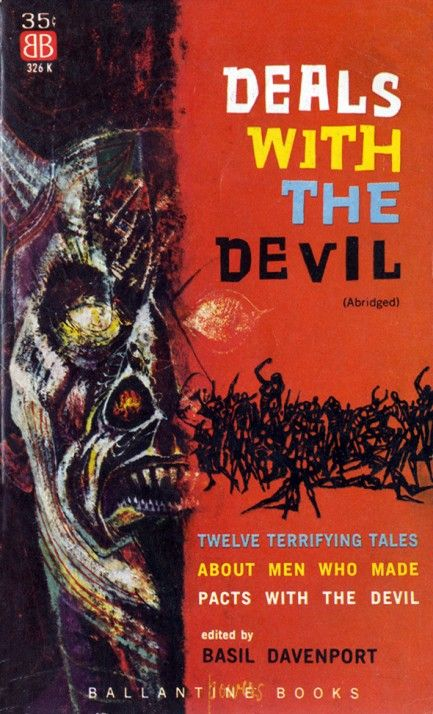Deals With The Devil - Basil Davenport, Editor (1960s)
