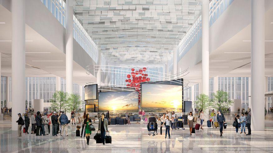 All Aboard Orlando's Bid to Be a Transit Hub | #architecture #infrastructure #urbandesign #Orlando #airport #Florida #FentressArchitects