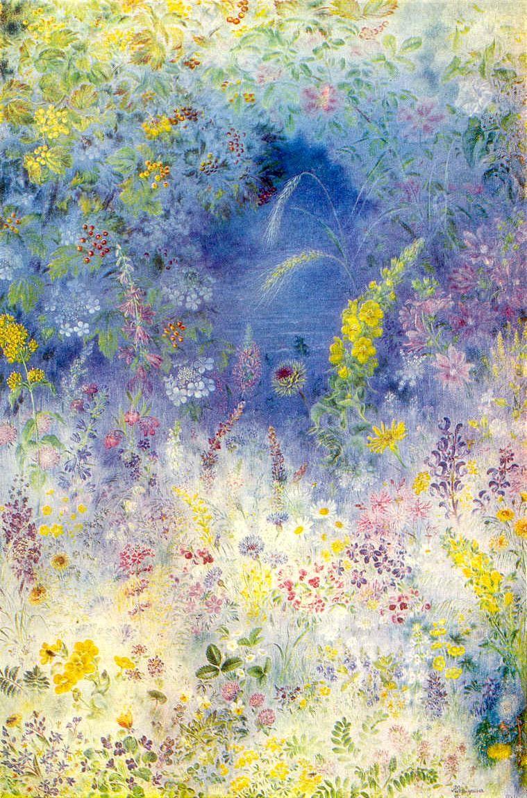 Field flowers - Kateryna Bilokur