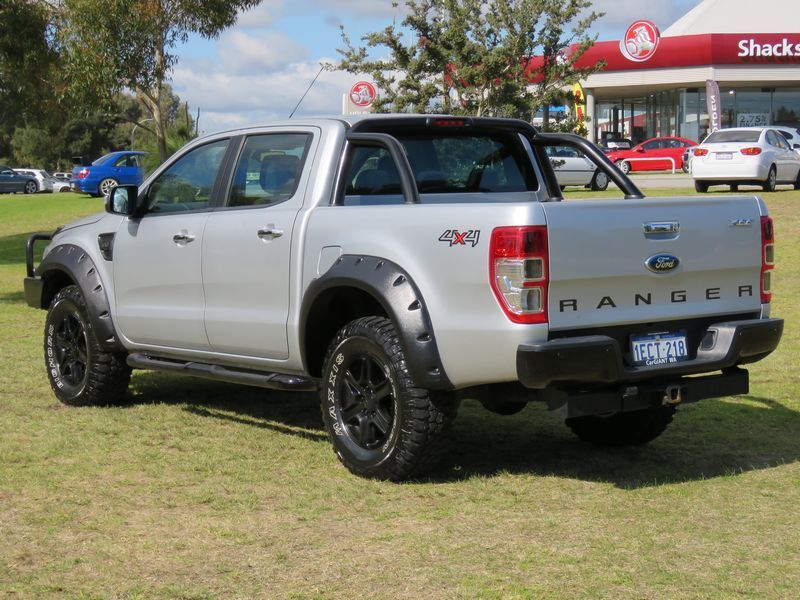 2013 Ford Ranger Px Xlt 3 2 4x4 Silver 6 Speed Manual Dual Cab