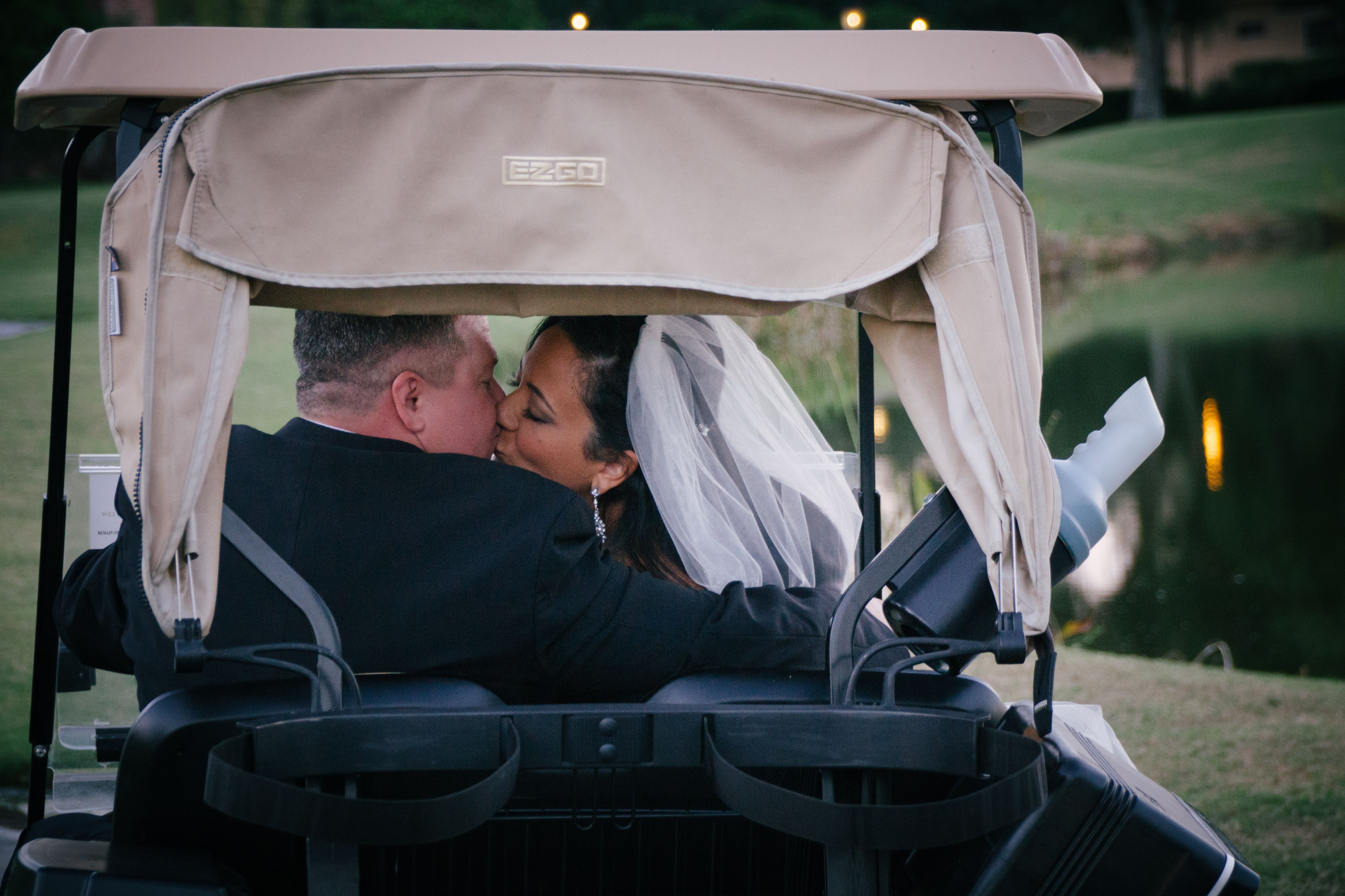 Hunters Green Golf and Country Club Navy & Green Country Club Soiree on Borrowed & Blue.  Photo Credit: Jillian Joseph Photography