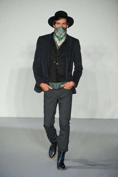 85d30620c9d The Agnes B. F W 2013 Men s Colelction Gets Saddled Up on the Runway   festivalstyle  bohemian trendhunter.com