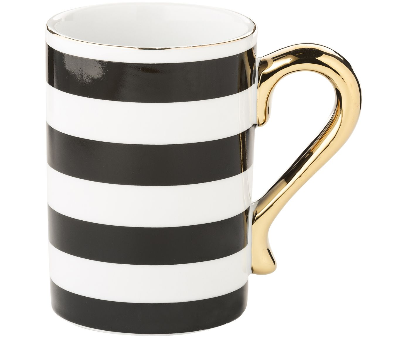 Tasse Stripes Nordic Design Kitchen Glassware Tableware