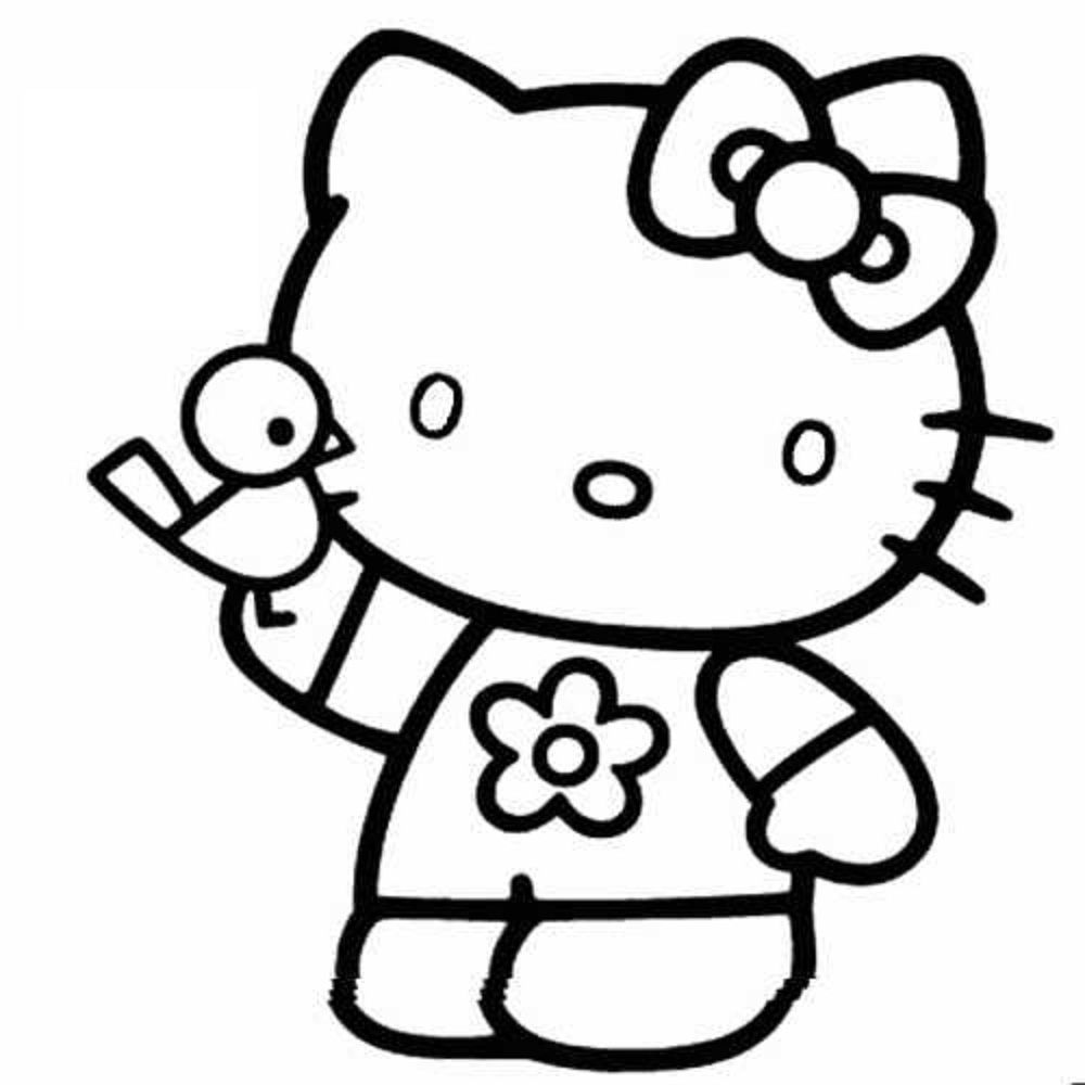 Hello Kitty Coloring Pages (2) - Coloring Kids | More To Color (All ...
