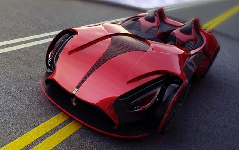 The Ferrari Millenio a new sport scar concept  By Marko Petrovic