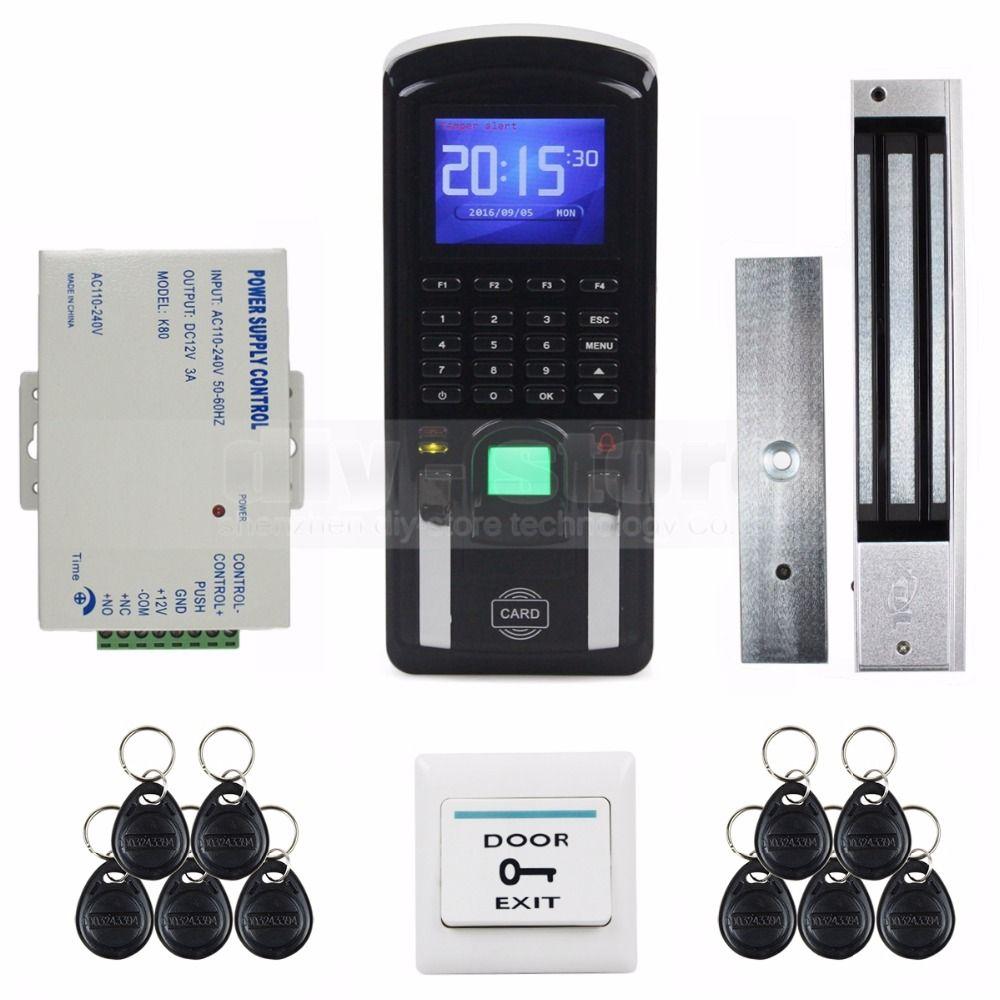 Diysecur tcpip usb fingerprint id card reader password