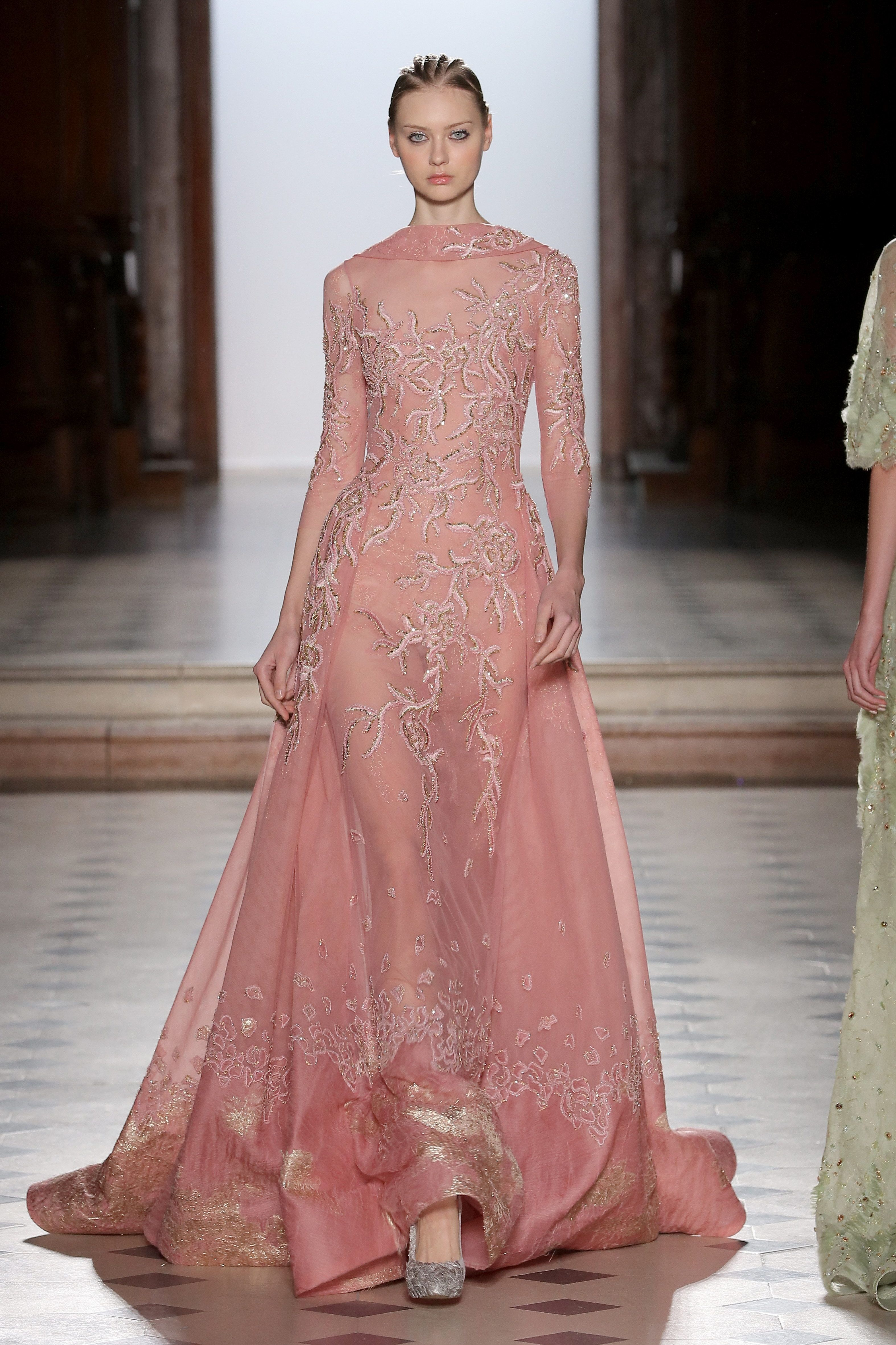 7c0d299d5dd Tony Ward Couture I Spring Summer 2018 I Rose dress in lace