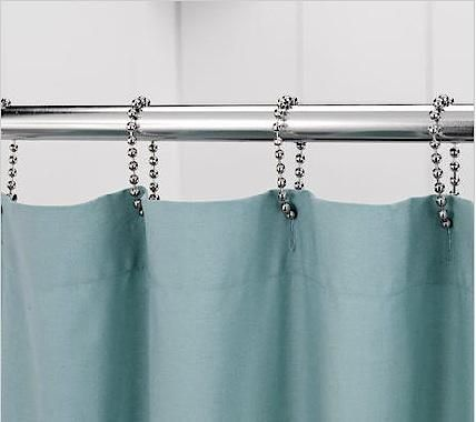 Bath Ball Chain Shower Curtain Rings Long Shower Curtains Diy