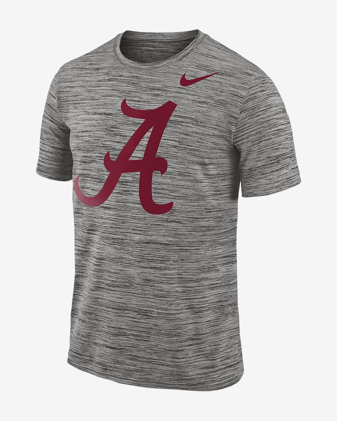 edee73203d Nike College Dri-Fit Legend Travel (Alabama) Men s T-Shirt - S Charcoal
