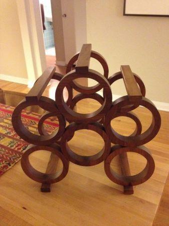 Wood Wine Rack - $15 in Bonnie Brae | Wood wine racks ...