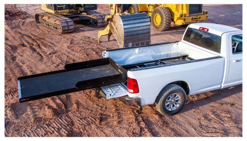 Cargoglide 1500xl Sliding Tray For Trucks Heavy Duty 1 500 Lbs Steel Frame 8 Rail Cargoglid Truck Bed Pickup Trucks Bed Trucks