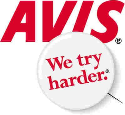 avis - we try harder. | advertising slogans | pinterest