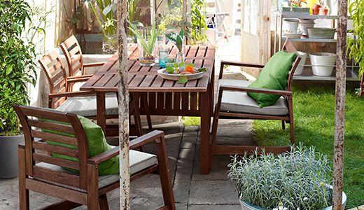 Gartenstuhlen Oder Gartenbanke Gartenstuhle Aussenmobel Outdoor Platze