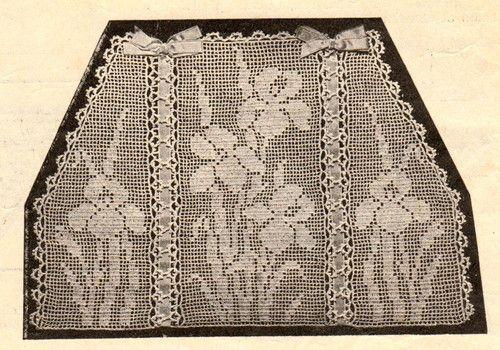 Details about Vintage downton abbey era crochet pattern ...