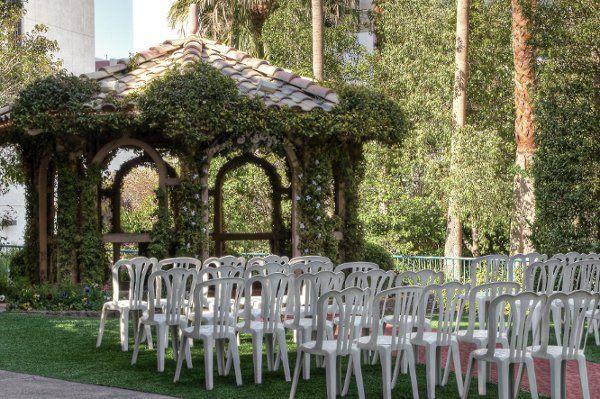 The Flamingo Wedding Gazebo